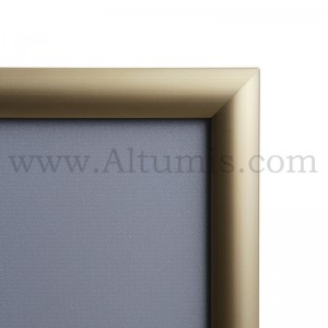 25mm Gold Snap frame Mitred corner