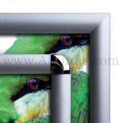Cadre Clic-Clac d'affichage - Profil 25mm