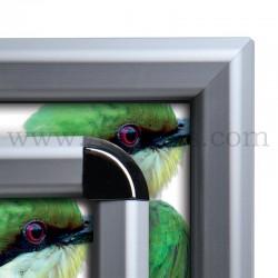 Cadre Clic-Clac d'affichage - Profil 32mm sécurisé