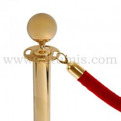 Corde compatible barrière dorée