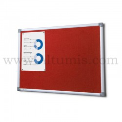 Red Fabric board