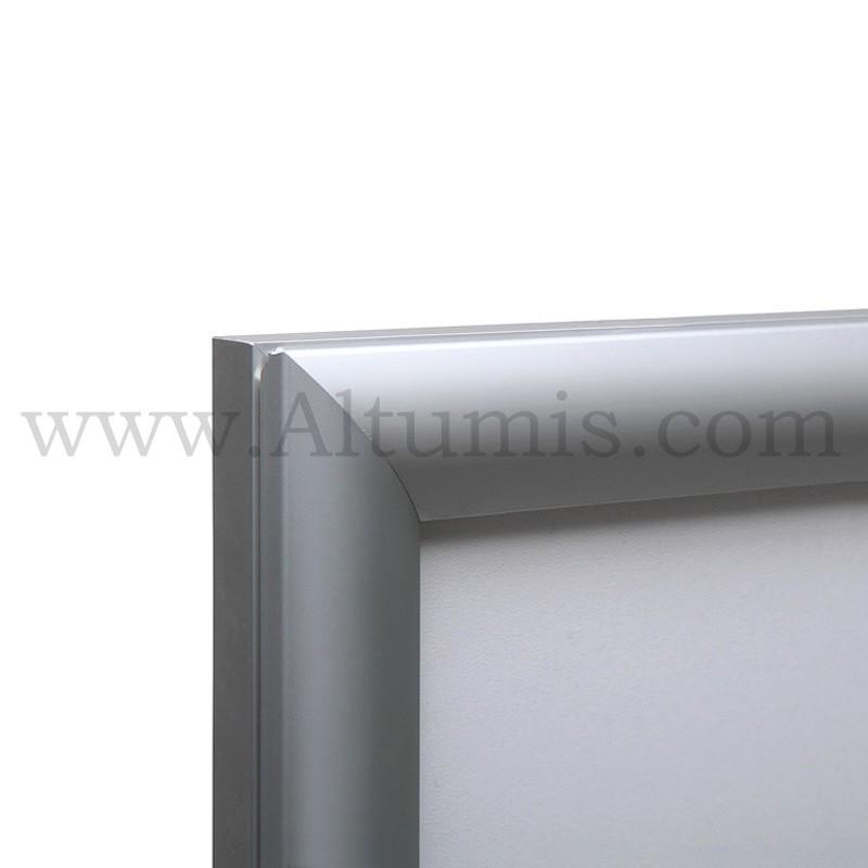 Cadre d'affichage LED d'intérieur simple face.