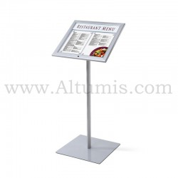 Lockable Menu Stand LED