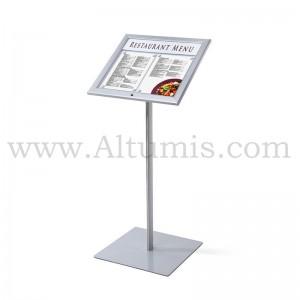 Lockable Menu Stand LED