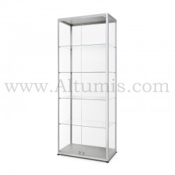 Glass Showcase 800x400 Double Hinger doors