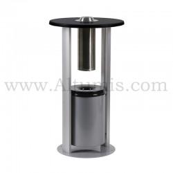 Cendrier cylindrique autoportant