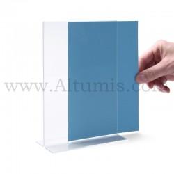 Porte document en plexiglas - T. Altumis