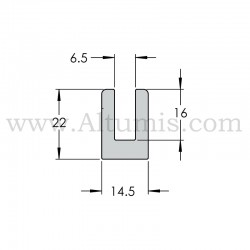 Perpendicular wall clamp sign 120