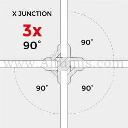 90° Connectors PlayWood- Pack 4 pieces