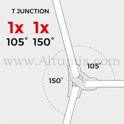 Connecteurs 150° - Pack 4 pièces - PlayWood by Altumis