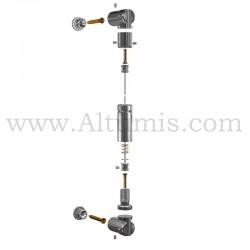 Kit Cable Pivot - signalétique suspendu par cable - Altumis