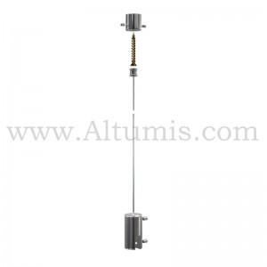 Kit Cable suspendu - signalétique suspendu par cable - Altumis