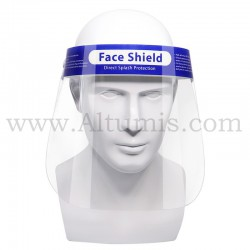 Face shield. Elastic band can be adjusted according to your need. Altumis