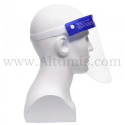 Face shield. It is anti-fog treated, latex and fiberglass free. Altumis