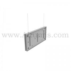 Cadre I-Frame ECO-1 suspendu pour la signalétique, en plastique ABS