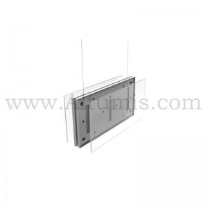 Cadre I-Frame ECO-2 suspendu pour la signalétique, en plastique ABS