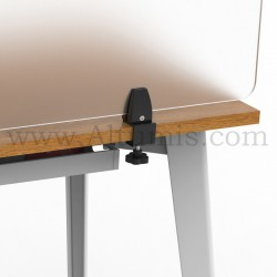 Table clamp for panel. Removable. Easy to install