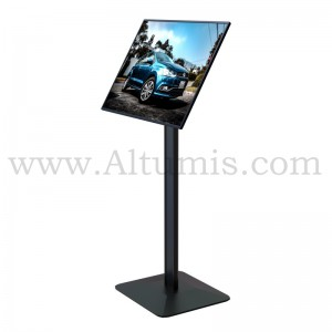 Porte-menu d'affichage LED : Superlight Single. Format A3. Altumis