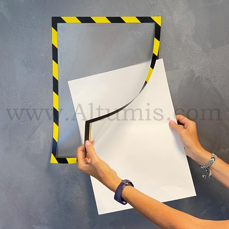 Cadre d'affichage magnétique security de la marque Magnetis®. Affichage simple face - Altumis