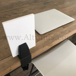 Table clamp for panel. Easy to install. Easy to mount, without having to drill your table.
