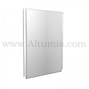 Porte-affiche Vertical en plexiglass en 2 mm - Altumis