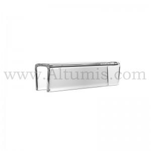 Pince plexiglass pour porte-affiche - Altumis