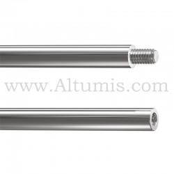 Tige Inox Diametre 6 mm et longueur 1M