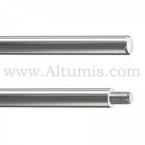 Tige Inox diametre 10 mm et longueur 0,5 M