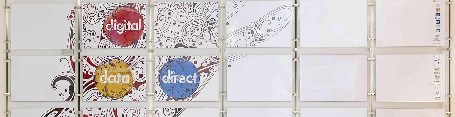 Accessoires diamètre 6mm pour la fixation d'affichages suspendus