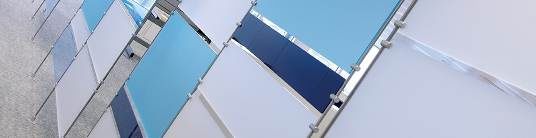Accessoires de tiges 10mm pour la fixation d'affichages suspendus
