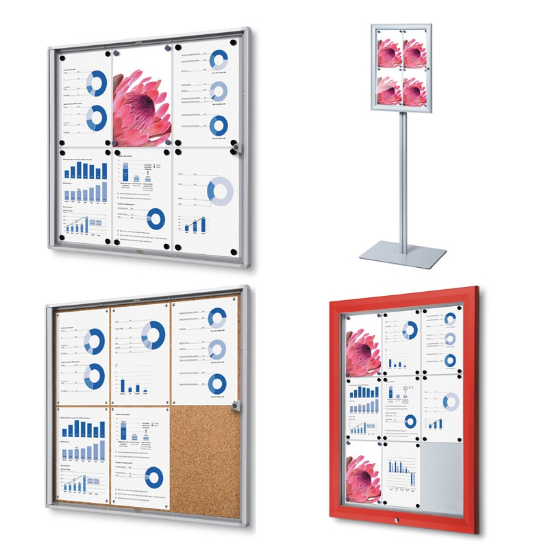 Gamme Display - Lockable boards