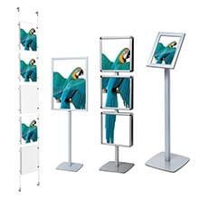 Gamme Display - Supports brochures & affiches