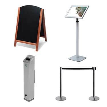 Gamme Display - Equipements d'espaces d'accueil