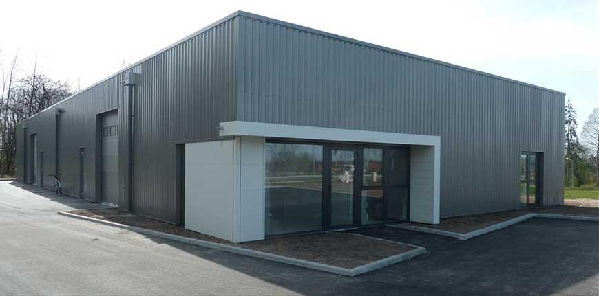 Altumis - Nouveaux bâtiments de NAROSSE